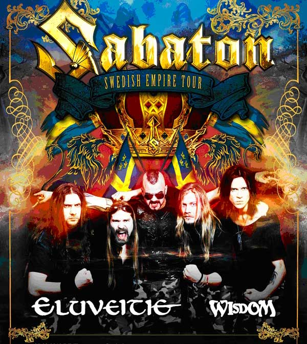 Sabaton Swedish Empire Tour