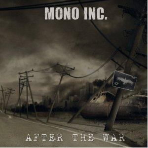 mono inc. after the war cover single