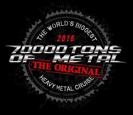 70000 Tons Of Metal Logo 2016