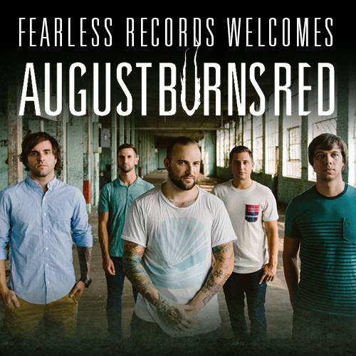August Burns Red Signing Picture