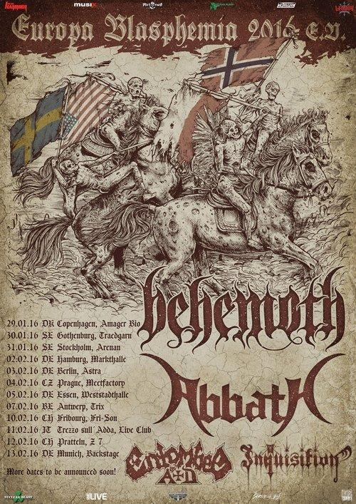 Behemoth Tourdaten 2016