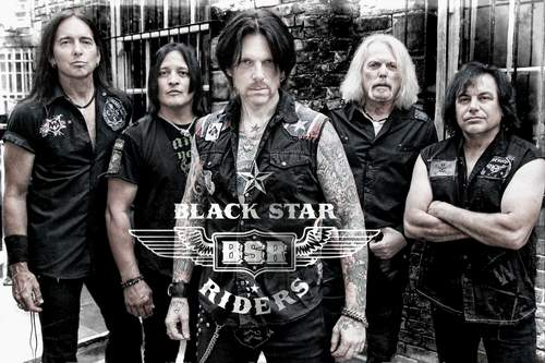 Black Star Riders Promobild 2015
