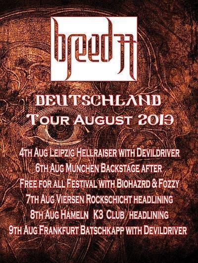 Breed77 - Tourflyer