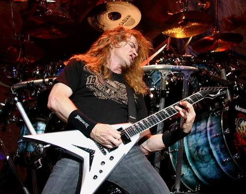 Dave Mustaine Livefoto