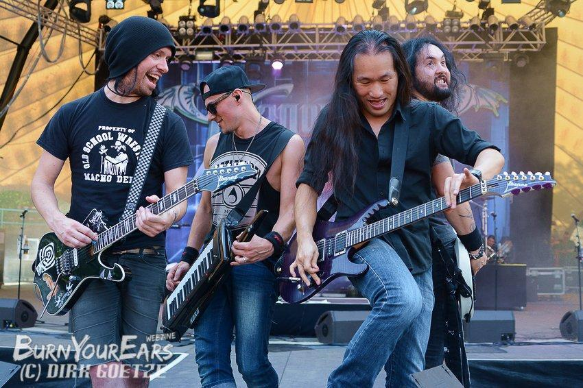 Dragonforce Rock Fels 2015