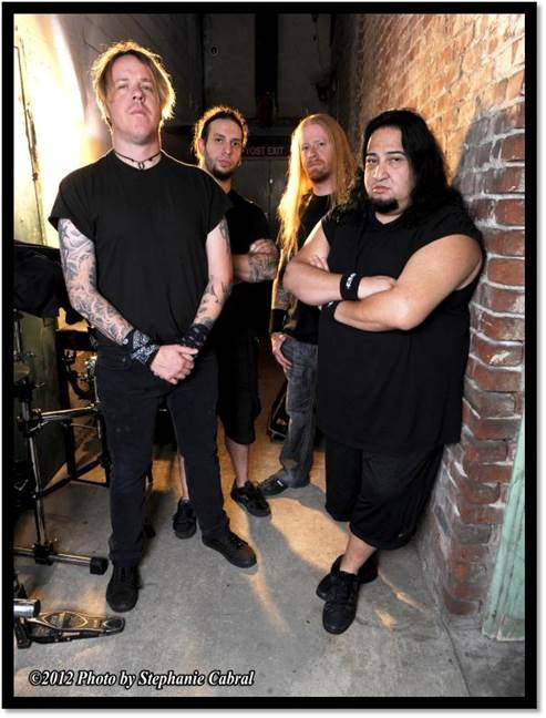 Fear Factory Bandfoto