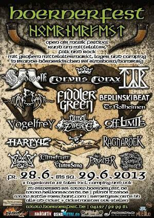 Hörnerfest Flyer