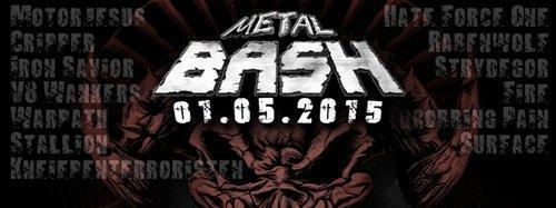 Metal Bash 2015 flyer