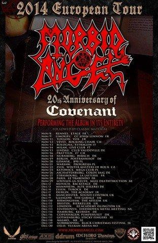 Morbid Angel Tourflyer