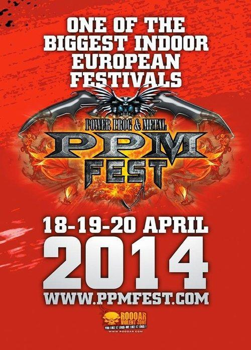 Power Prog Fest Belgien Flyer