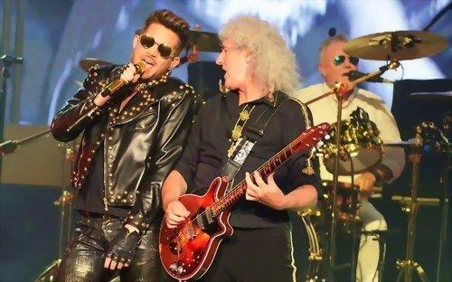 Queen und Adam Lampert