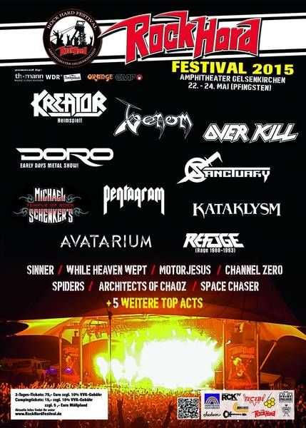 Rock Hard Festival Flyer 071214
