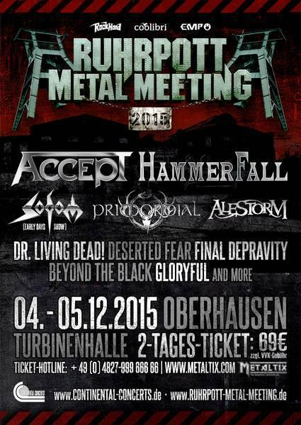 Ruhrpott Metal Meeting Flyer 26022015