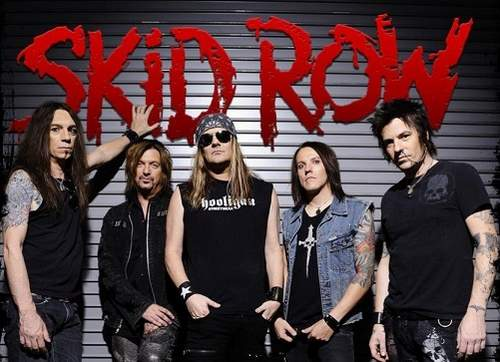 Skid Row mit Johnny Solinger