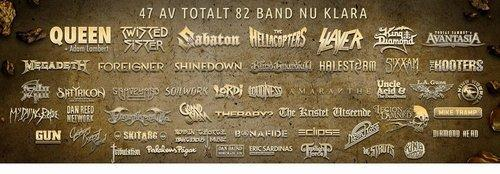 Sweden Rock Billing 18122015