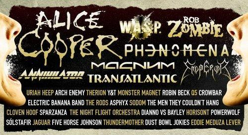 Sweden Rock Billing Flyer