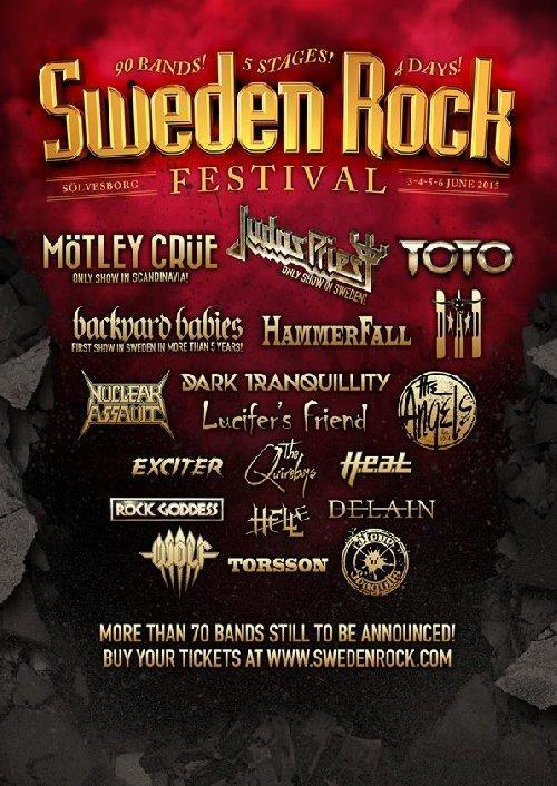 Sweden Rock Festival Flyer 2015 1