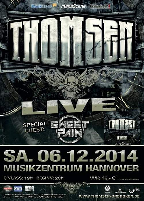 Thomsen Konzert Flyer