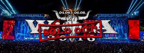 Wacken Open Air 2016 Sold Out