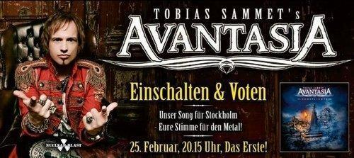 Avantasia Vote for ESC Flyer