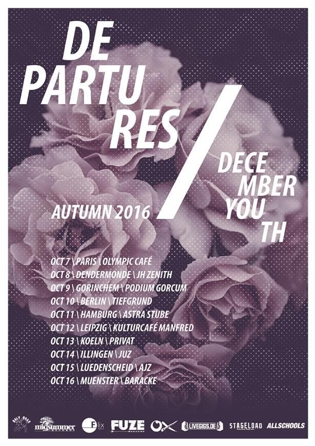 Departures December YouthTour