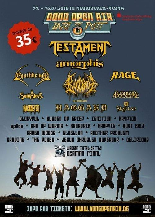 Dong Open Air Billing 2016