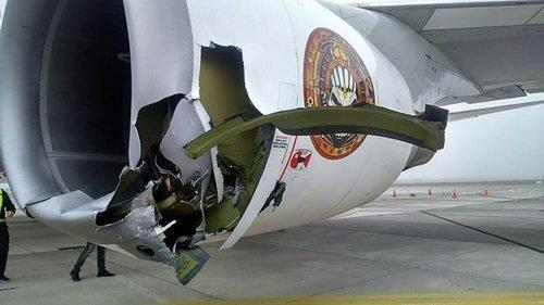Iron Maiden Ed Force One Unfall 2