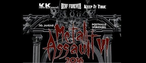 Metal Assault 2016 Logo