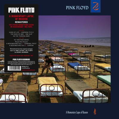 Pink Floyd A Momentary Lapse Of Reason Cover with Sticker px400