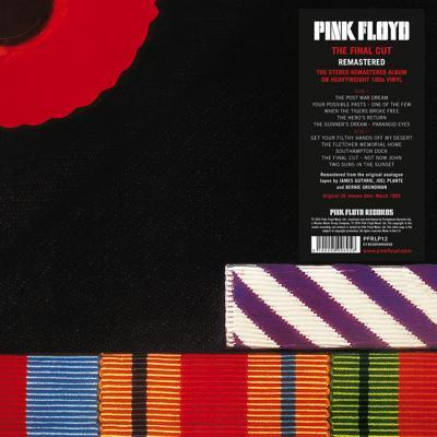 Pink Floyd The Final Cut Cover with Sticker px400