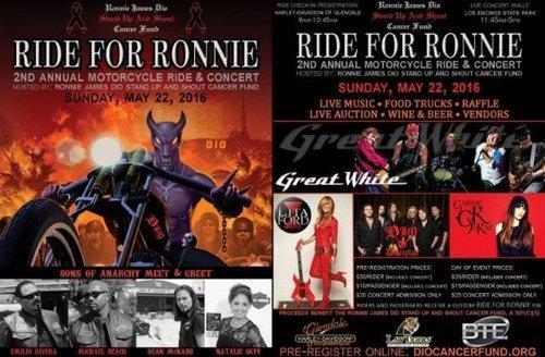 Ride For Ronnie Plakat