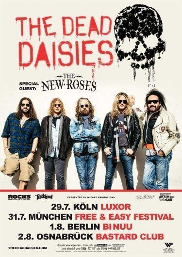 The Dead Daisies Tourflyer