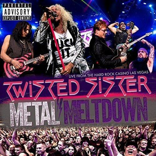 Twisted Sister Metal Meltdown Cover