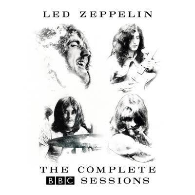 led zeppelin complete bbc sessions album cover
