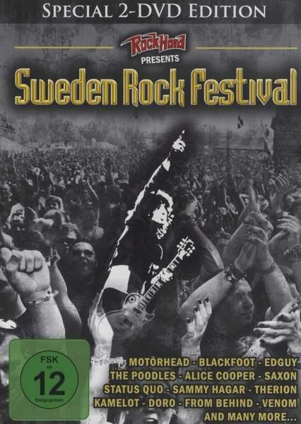 sweden rock festival dvd