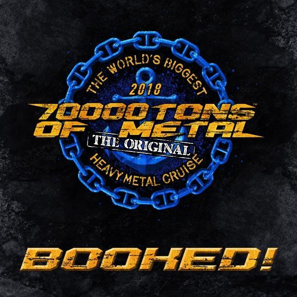 70000TONS OF METAL 2018 Badge
