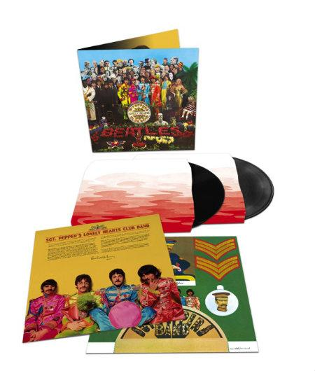 The Beatles Sgt Pepper 2LP 3D Product Shot photocredit universal music