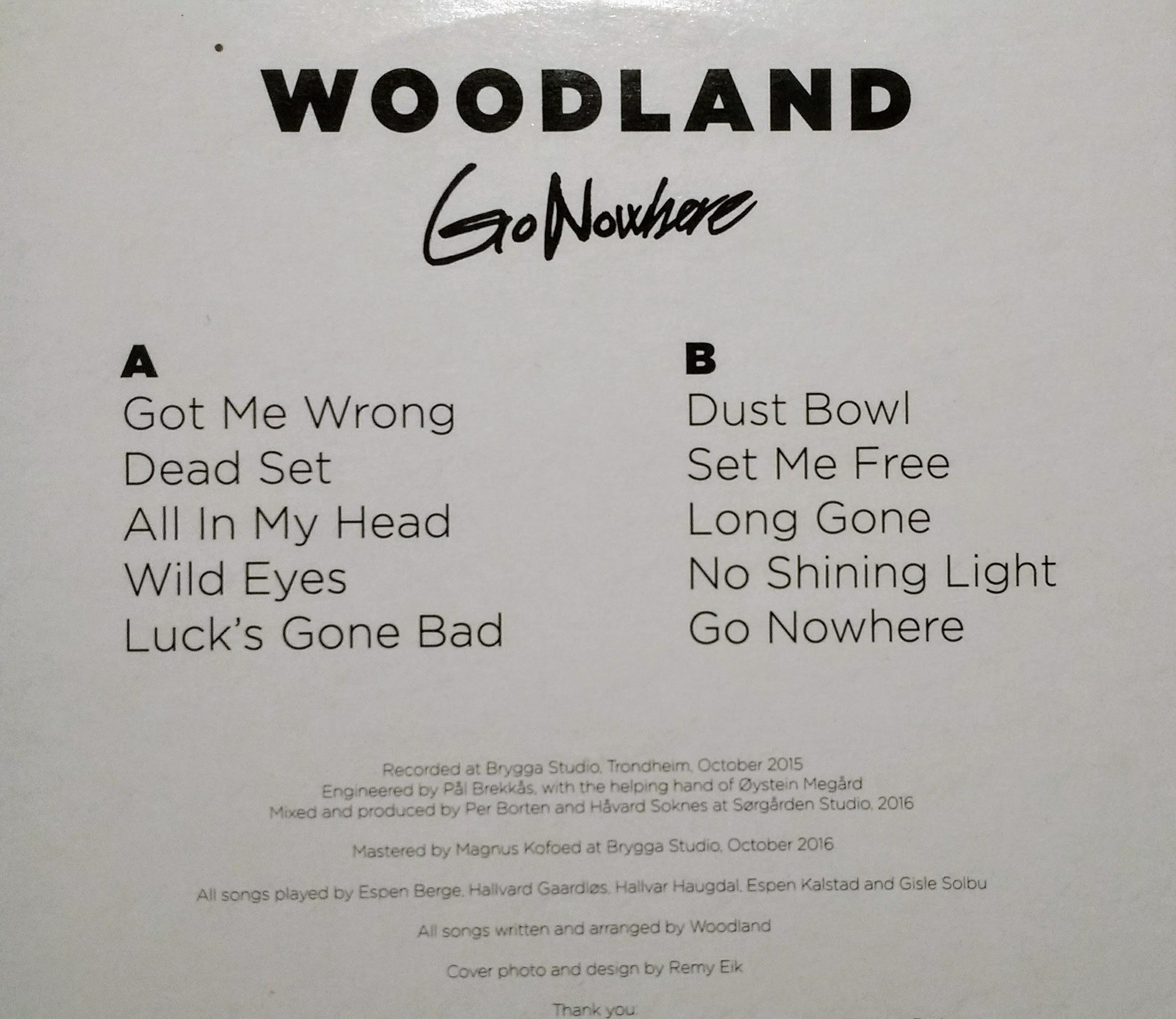 Woodland Go Nowhere B