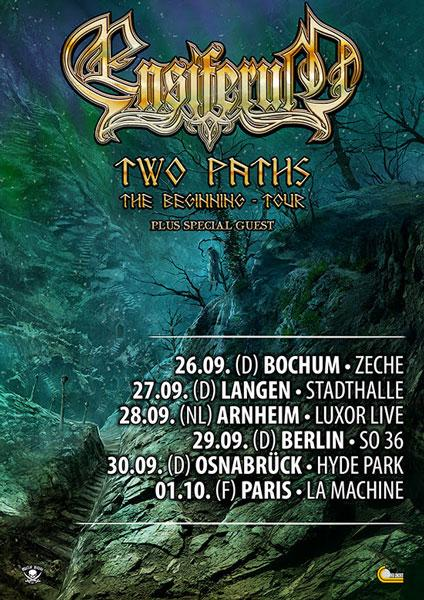 ensiferum two paths tour