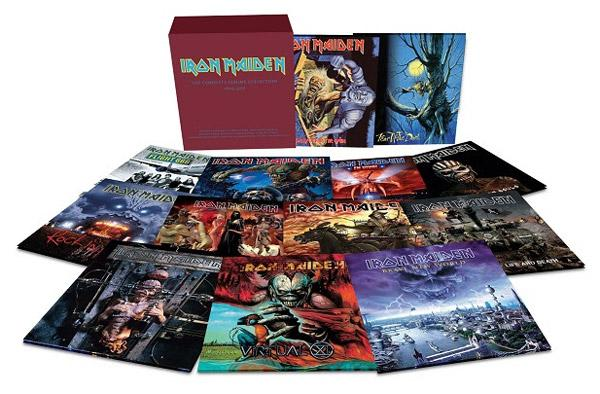 iron maiden vinyl reissues