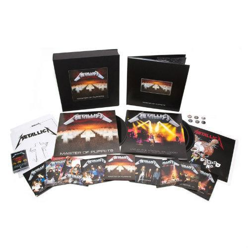 metallica master of puppets remastered boxset