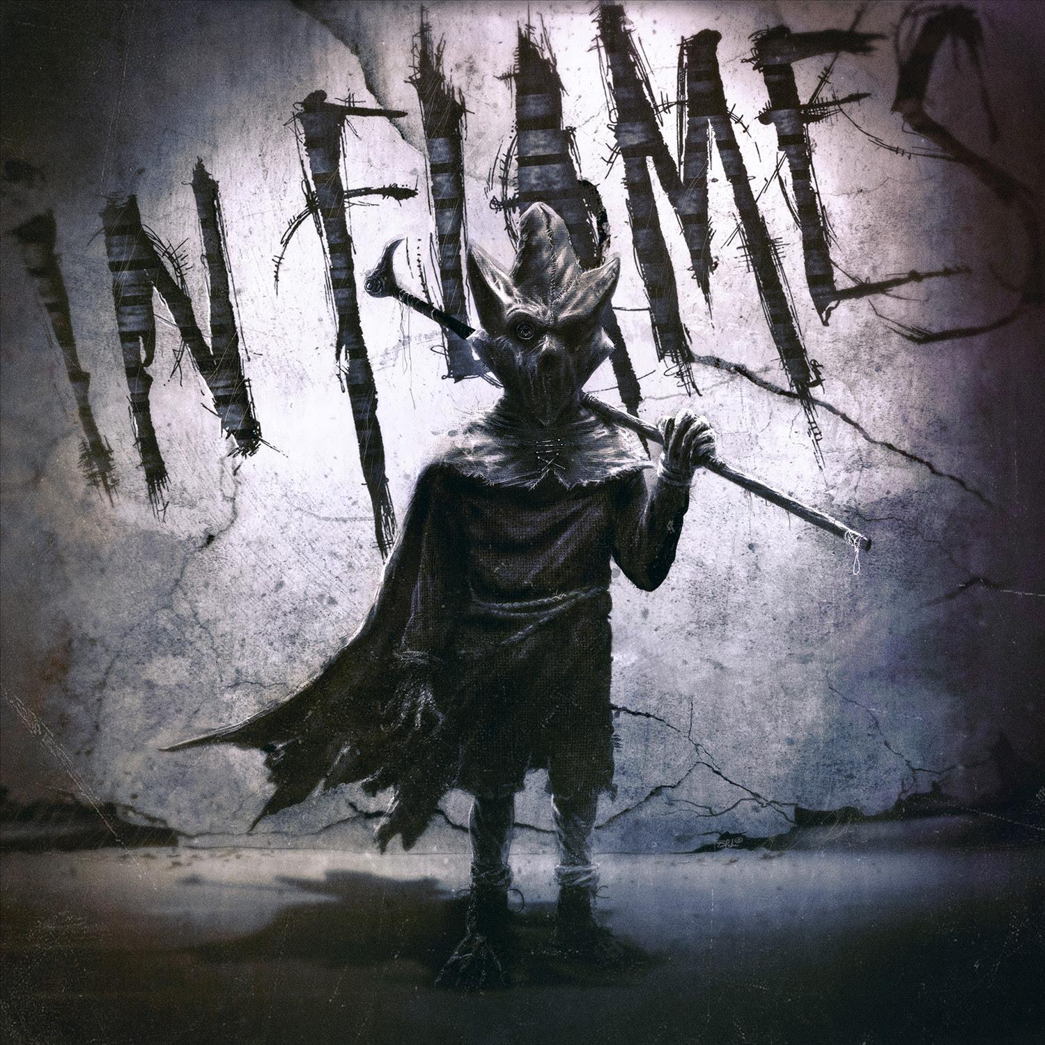 In Flames I The Mask Cover