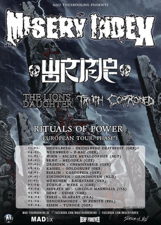 Misery Index Tour