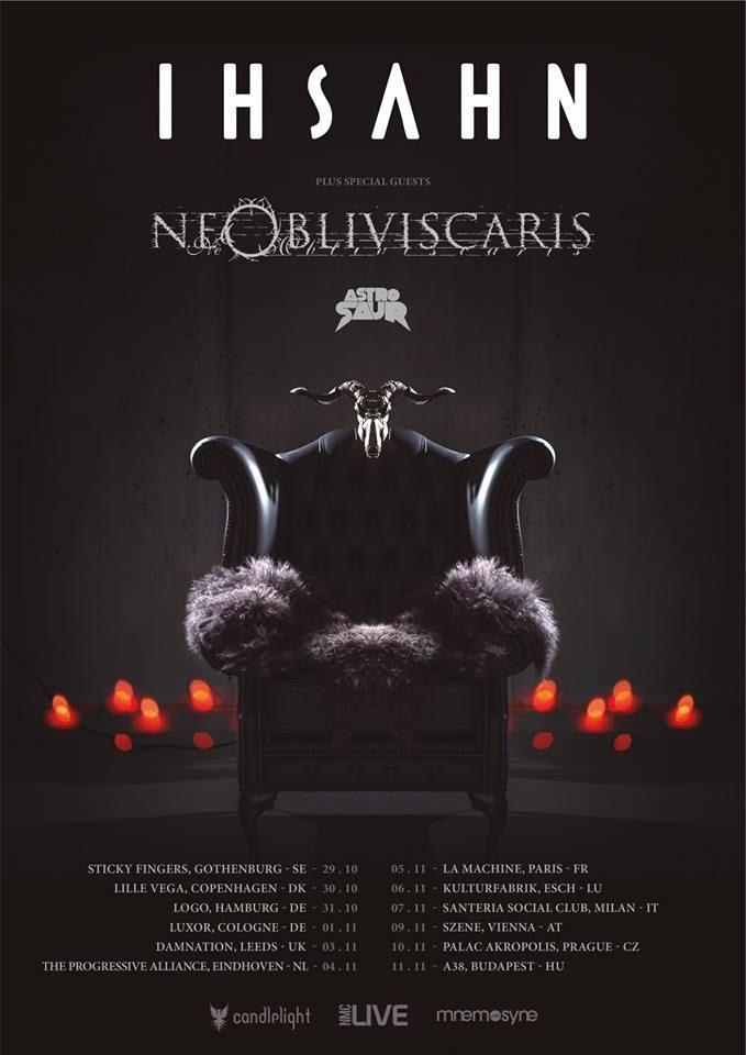 Ne Obliviscaris Tour