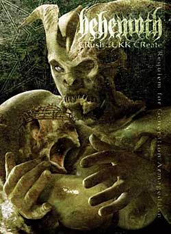 behemoth crush fukk dvd cover