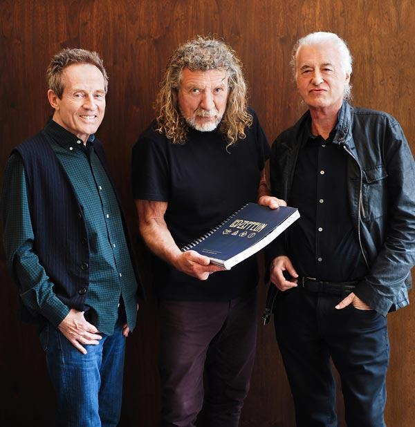 ledzeppelin book 2018 - Photo by Dave Brolan/Reel Art Press