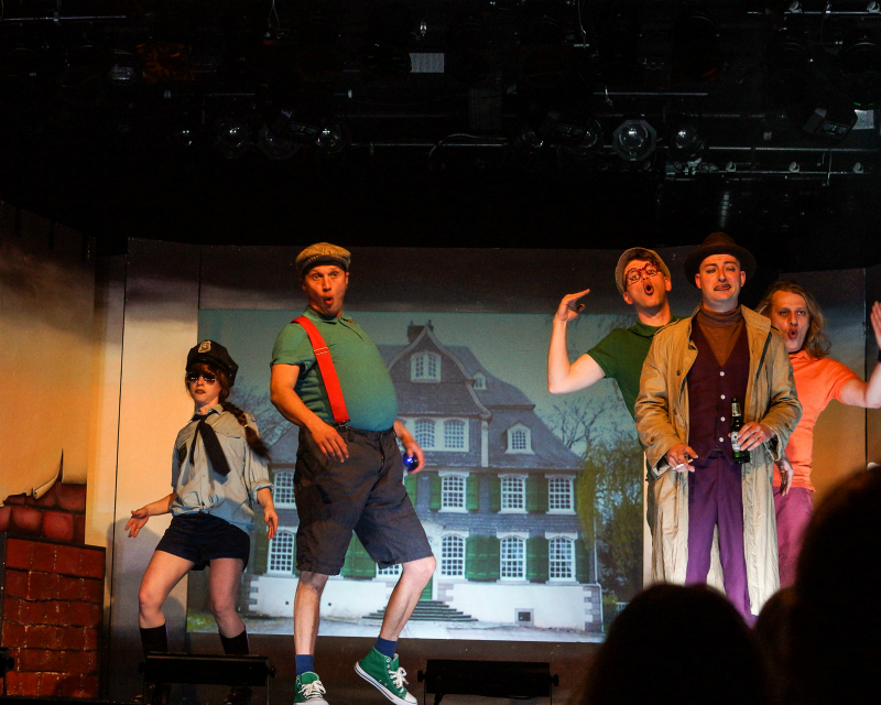 Das Vollplaybacktheater in Aktion
