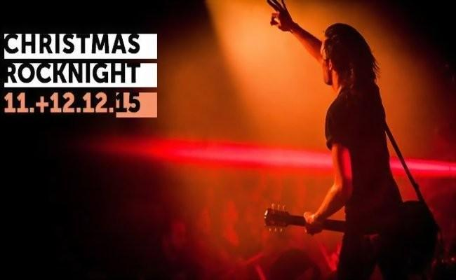 Starkes Line-Up bei der 36. CHRISTMAS ROCK NIGHT in Ennepetal 2015