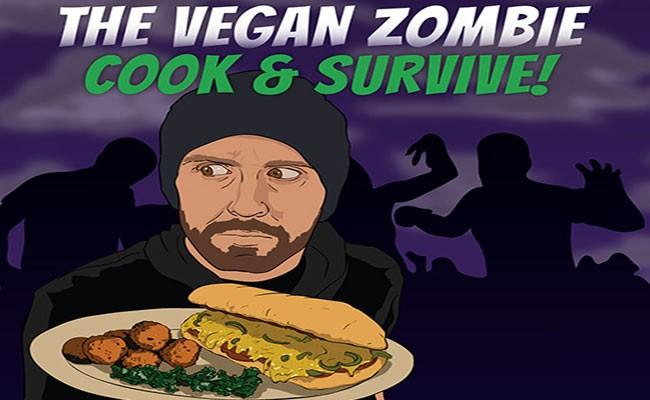 """The Vegan Zombie"" von Chris Cooney / Jon Tedd"