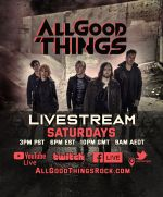 ALL GOOD THINGS samstags im Live-Stream
